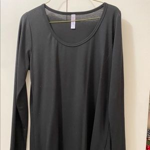 Lularoe Lynnae Brand New with tags - solid black